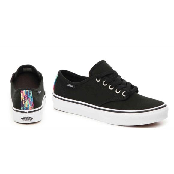 6d637cf206ccbe VANS Rare Black Camden Sneaker NWT Size 6 Firm
